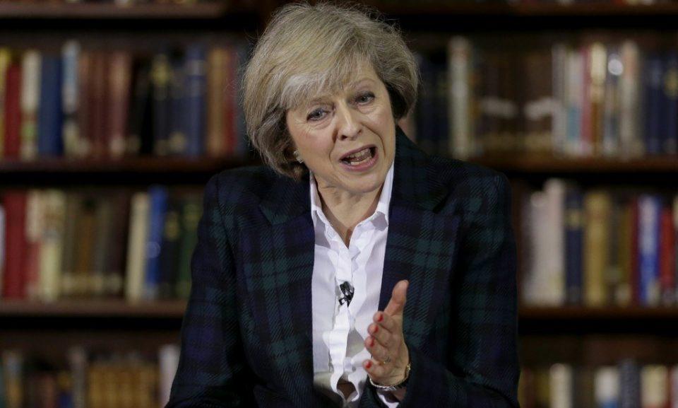 Theresa May 1024X615