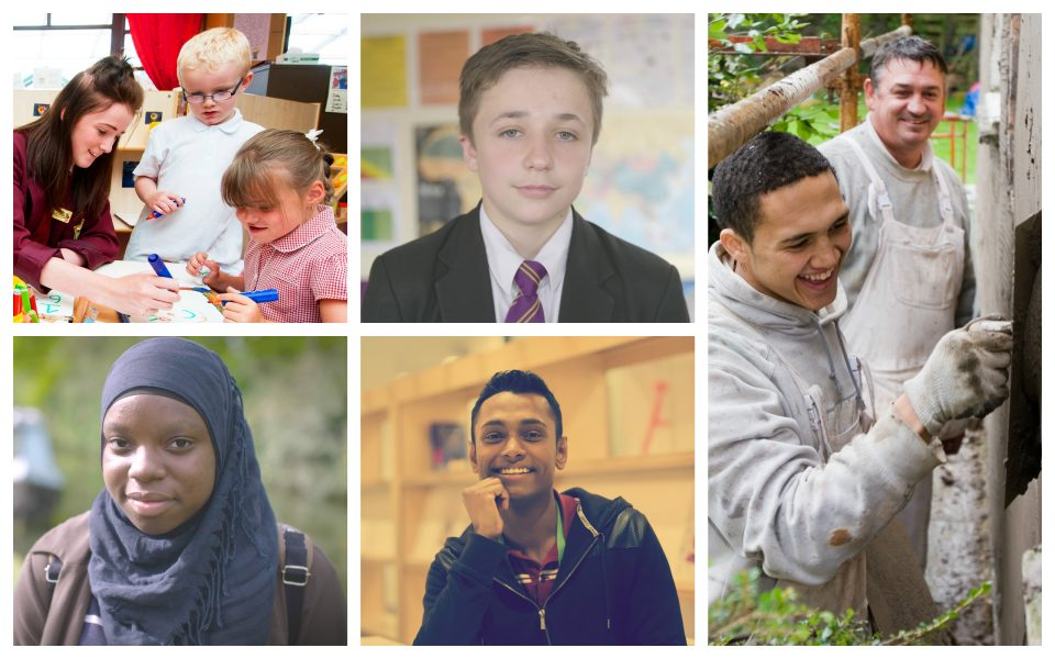 Young People Collage 2017