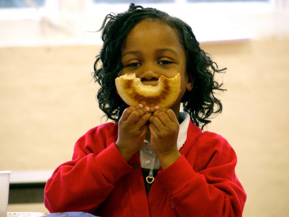 Magic Breakfast Bagel Smile Girl Resized For Web